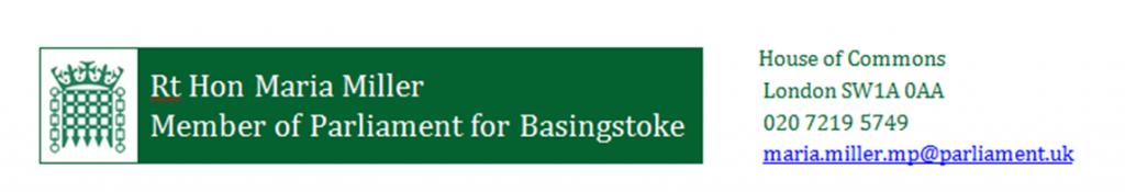 Maria Miller Basingstoke